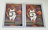 (LOT OF 2) STEPHON MARBURY 1997-98 Skybox Metal Universe #90 Great Condition!!
