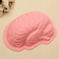 Halloween Silicone Zombie Brain Mould Fondant Cake Mold Candy Chocolate