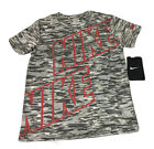 NIKE DRI-FIT Youth Boys Camouflage T-Shirt Size 6