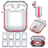 For AirPods Case Clear Cover Apple AirPod Charging Earphones Case Protective