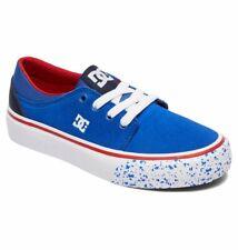 Tg 32 - Scarpe Bimbo Bambino DC Shoes Trase SE Blu Navy Rosso Sneakers Schuhe