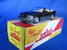 AC142 SOLIDO HACHETTE MERCEDES BENZ 500 SL 1989 1/43 EN BOITE