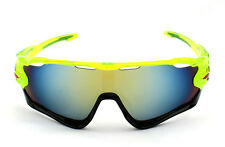 Sports Glasses Cycling Goggles Bike Motorcycle Bicycle Sunglasses UV Protection Orange