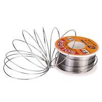 63/37 0.8mm Tin Lead Rosin Core Solder Flux Soldering Welding Iron Wire Reel  FT