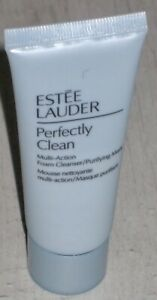 Estee Lauder Perfectly Clean Multi-Action Foam Cleanser / Purifying Mask - 30ml