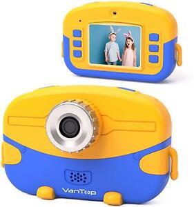 VanTop Junior K6 Kids Camera 32GB Memory Card, 20MP Photo 1080P HD Digital Video
