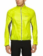 New Men's Craft Performance Light Jacket Size Extra Large Yellow/Iron