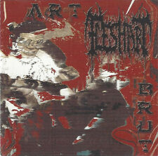 Flesh Art-Art Brut CD Lusting Greek grind dealing with the art of cannibalism