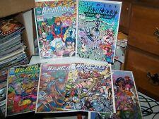 WILDCATS 1, 2, 3, 4, 5, 11 - IMAGE COMICS 1992 SHADOWHAWK 1, 2
