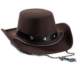 Baby Cowboy Hat Western Toddler Dress Up Fun Brown Kids 20 Inch Play Gift New