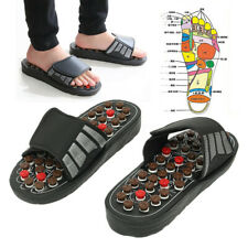 Massage Slippers Sandal Feet Reflexology Acupressure Acupuncture ❤ (%) Hha