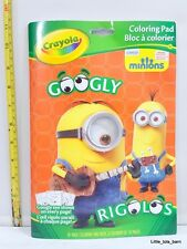 LTB: CRAYOLA GOOGLY EYE MINIONS COLORING BOOK