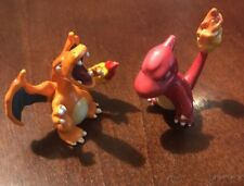TOMY Pokemon Figure Lot - Charmeleon #05 AND Charizard #06