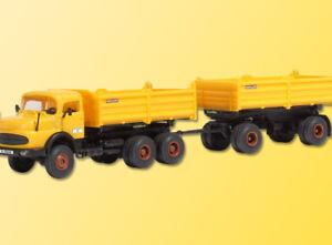 Kibri 14026 MB Camioncino da Carico Meiller Kipperzug, Kit di Costruzione, H0