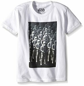 Star Wars Boys' Stormtrooper T-Shirt, White Size Small