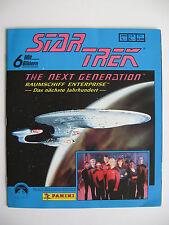 "Panini Sammelbilderalbum ""Star Trek Next Generation"", Leeralbum plus Bildersatz"