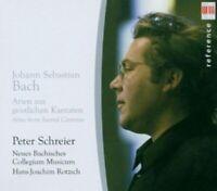 PETER SCHREIER/NBCM/ROTZSCH - J.S.BACH-ARIEN AUS GEISTLICHEN KANTATEN  CD  NEW!