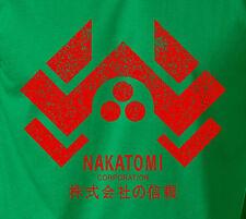 NAKATOMI Corporation Plaza T-Shirt Bruce Willis Die Hard 1 2 3 Action Movie Tee
