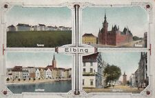 72770- Elbing Alter Markt Kaserne Elblag Westpreußen 1926