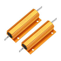 Aluminum Case Resistor 100W 3Ohm Wirewound  for LED Replacement Converter 2Pcs