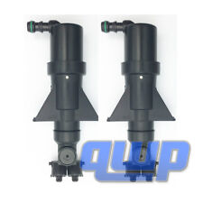 2PC Headlight Headlamp Washer Nozzle Sprayer Actuators For Audi A4  Quattro A6