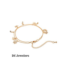 Women's Gold Butterfly Anklet Bracelet Charm Ankle Pretty Chain Jewelry Beach