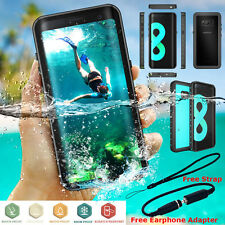 Samsung Galaxy S10 Note 9 8 Waterproof Case 6ft Diving Shockproof 360 Full Cover