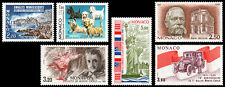 Monaco Scott 1529, 1539, 1540, 1541, 1542, 1543 (1986) Mint NH VF
