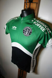 Unused Voler Sz S Starbucks Coffee Race Fit Cycling Bicycle Jersey       s42