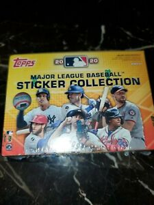 2020 Topps Major League Baseball Sticker Collection Factory Sealed Box