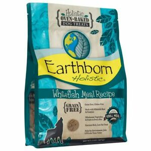 EARTHBORN DOG GRAIN FREE WHITEFISH BISCUIT 2LB   Free Shipping