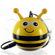 Kitsound Mini Buddy Abeja Altavoz portátil para iPhone y dispositivos Android - 3.5mm