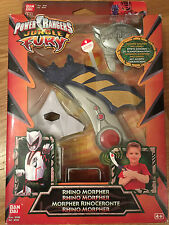 Power Rangers jungle fury Rhino morpher very rare toy - New in sealed box