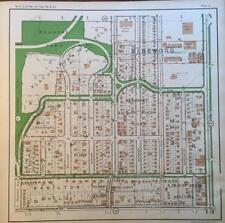 1925 KANSAS CITY MISSOURI ROANOKE PARK VALENTINE ATLAS MAP