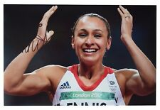 Jessica Ennis SIGNED 12x8 Photo Autograph Heptathlon Olympic Sport AFTAL COA