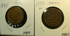 Two Vintage South America Coins