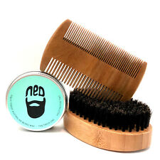 Deluxe Moustache Comb, Brush and Mo Wax Kit NED fresh one. Starter Grower Kit