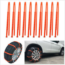 10Pcs Car Truck Universal Mini Plastic Winter Tyres Wheels Anti-Skid Snow Chains