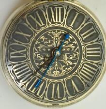 watch for Tsar Nicholas I Court.1825 Unique antique Verge Fusee silver pair case