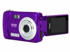 Vivitar ViviCam X018 10.1 MP Digital Camera - Purple ™