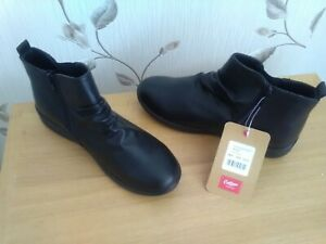 Cotton traders ladies leather boots size 4