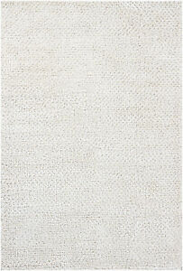 5x8' Chandra Rug  Strata Hand-woven Contemporary  Wool & Polyester STR1162-576