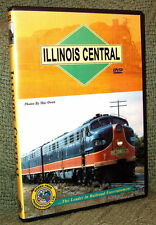 "20059 TRAIN VIDEO DVD ""THE ILLINOIS CENTRAL ODYSSEY"" (2-DISC)"