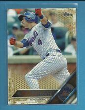 Wilmer Flores 2016 Topps Series 1 GOLD Parallel # 86 ser #'d /2016 Mets Baseball