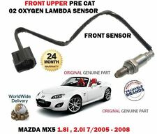 FOR MAZDA MX5 1.8 2.0 NC 2005-9/2008 FRONT UPPER PRE CAT 02 OXYGEN LAMBDA SENSOR