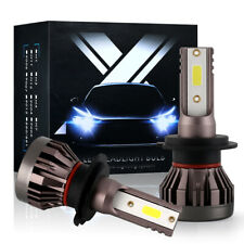 2X Super Mini Cree H7 Led Headlight Bulbs Kit 6000K Xenon White High / Low Beam