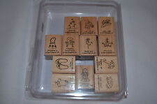 NEW Stampin up  A LITTLE LOVE  Sayings Funny Stamp set