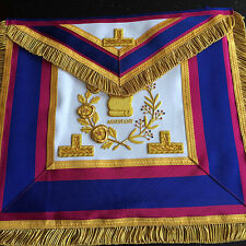 GRAND RANK  DRESS APRON AND COLLAR MARK HAND CRAFTED