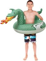 GoFloats Dragon Party Tube Inflatable Raft