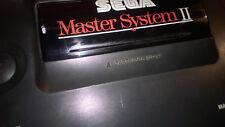 SEGA MASTER SYSTEM II 2 SMS & 1 GAME #S128B82 ALEX THE KID BUILT-IN